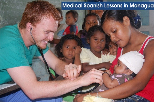 medical spanish lessons in managua