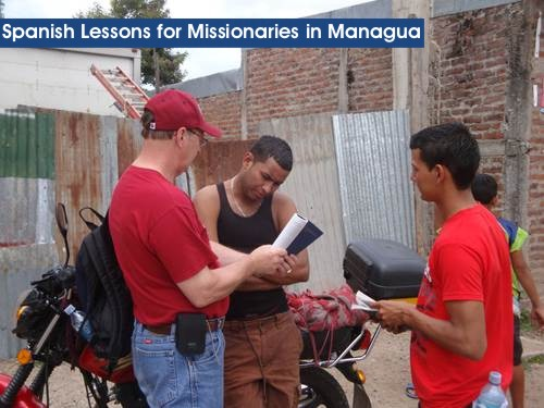spanish lessons for missionaries in managua